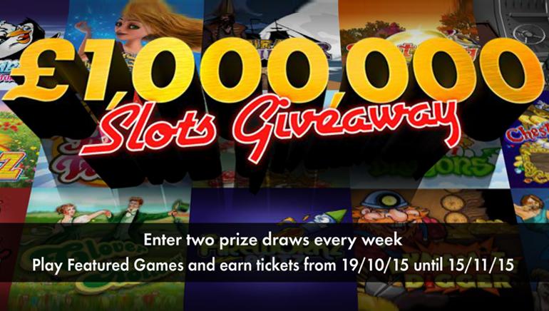 Спечелете състояние, като участвате в наградите от £1,000,000 / $1,500,000 на bet365 Casino