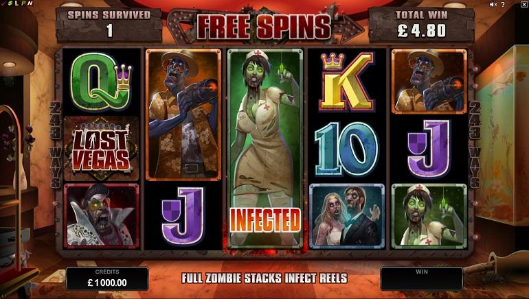 Lost Vegas: Нов слот на тема зомби от Microgaming