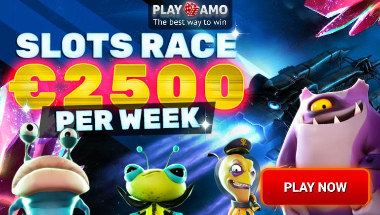 Спечелете част от €2500 в Slots Race на Playamo